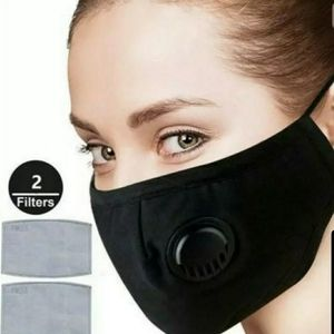 Outdoor Face Masks with Valve + (2) Filters